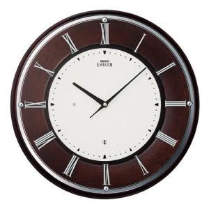 SEIKO セイコー 掛け時計 スタンダード EMBLEM エムブレム 電波 HS540B【お取り寄せ】|empire-clock