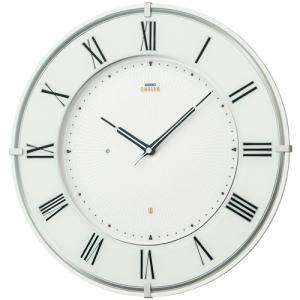 SEIKO セイコー 掛け時計 スタンダード EMBLEM エムブレム 薄型電波 気品漂う佇まい HS542W【お取り寄せ】|empire-clock