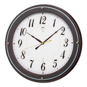 SEIKO セイコー 掛け時計 スタンダード EMBLEM エムブレム 電波 HS545B【お取り寄せ】|empire-clock