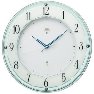 SEIKO セイコー 掛け時計 スタンダード EMBLEM エムブレム 華やかなアクセントとして住空間に映えるモダンデザイン HS546S【お取り寄せ】|empire-clock