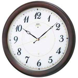 SEIKO セイコー 掛け時計 EMBLEM エムブレム 電波掛け時計 スタンダード HS547B【お取り寄せ】|empire-clock