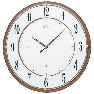SEIKO セイコー 掛け時計 スタンダード EMBLEM エムブレム 壁面に美しくフィットする 軽快な薄型電波クロック HS548B【お取り寄せ】|empire-clock