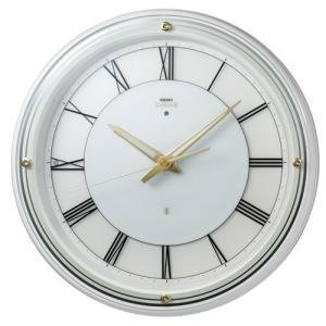 SEIKO セイコー 掛け時計 夜でも見える 暗くても見える EMBLEM エムブレム HS550W【お取り寄せ】|empire-clock