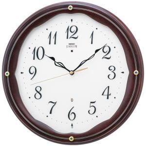 SEIKO セイコー 掛け時計 スタンダード EMBLEM エムブレム カットガラス HS551B【お取り寄せ】|empire-clock