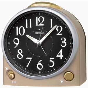 SEIKO セイコー 目覚まし時計 スタンダード 置き時計 KR502G 音量調節 スイープ おしゃれ 【お取り寄せ】|empire-clock