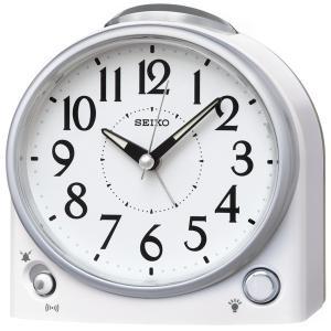SEIKO セイコー 目覚まし時計 スタンダード 置き時計 KR502W 音量調節 スイープ おしゃれ 【お取り寄せ】|empire-clock
