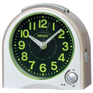 SEIKO セイコー 目覚まし時計 スタンダード 置き時計 KR503G 音量調節 スイープ おしゃれ 【お取り寄せ】|empire-clock