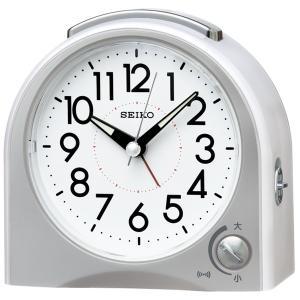 SEIKO セイコー 目覚まし時計 スタンダード 置き時計 KR503W 音量調節 スイープ おしゃれ 【お取り寄せ】|empire-clock