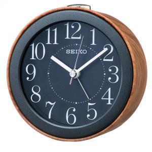 SEIKO セイコー 目覚まし時計 スタンダード 置き時計 掛け時計 壁掛け ナチュラルスタイル KR504A スイープ おしゃれ 【お取り寄せ】|empire-clock