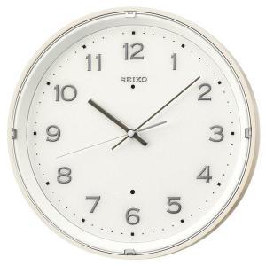 SEIKO セイコー 掛け時計 スタンダード 電波 アナログ 木枠 薄茶木地 KX206A【お取り寄せ】|empire-clock