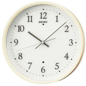 SEIKO セイコー 掛け時計 スタンダード 電波 アナログ 木枠 薄茶木地 KX207A【お取り寄せ】|empire-clock