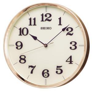 SEIKO セイコー 掛け時計 スタンダード 電波 アナログ 銅色 KX221G【お取り寄せ】|empire-clock