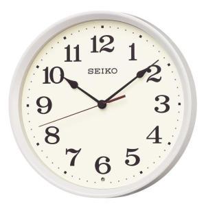 SEIKO セイコー 掛け時計 スタンダード 電波 アナログ 白パール KX223W【お取り寄せ】|empire-clock