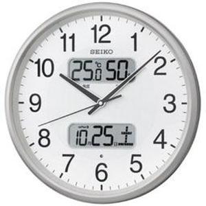 SEIKO セイコー 掛け時計 液晶表示付 電波...の商品画像