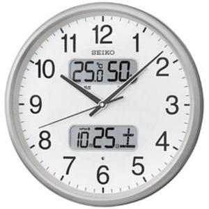 SEIKO セイコー 掛け時計 液晶表示付 電...の詳細画像1