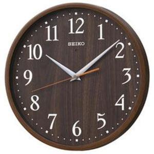 SEIKO セイコー 掛け時計 スタンダード 電波 アナログ 濃茶木目模様 KX399B【お取り寄せ】|empire-clock