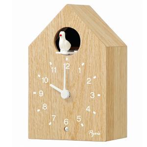 SEIKO セイコー かっこう時計 PYXIS ピクシス アナログ 報時 木目 木枠 NA609A【お取り寄せ】|empire-clock