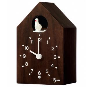 SEIKO セイコー かっこう時計 PYXIS ピクシス アナログ 報時 木目 木枠 NA609B【お取り寄せ】|empire-clock