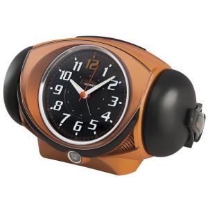 SEIKO セイコー 目覚まし時計 アナログ 大音量 ベル音 ピクシス ウルトラライデン オレンジメタリック NR441E【お取り寄せ】|empire-clock