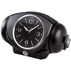 SEIKO セイコー 目覚まし時計 アナログ 大音量 ベル音 ピクシス ULTRA RAIDEN ウルトラライデン 黒 NR441K【お取り寄せ】|empire-clock
