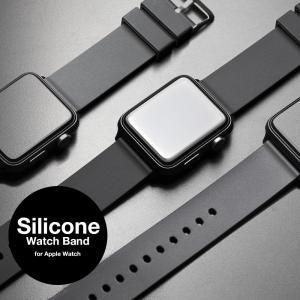 アップルウォッチ バンド for Apple watch シリコン ラバー 38mm 40mm 42...