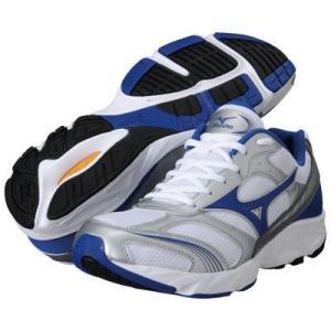 ミズノ mizuno マキシマイザー15 白×青 8KA33027 メンズ ランニングシューズ ジョギング シューズネコポス不可|ems-sports1