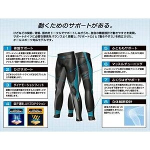 ネコポス選択可 ミズノ mizuno バイオギア BG8000 タイツ A60BP26009 メンズ ランニング ジョギング ウォーキング スポーツタイツ|ems-sports1|04