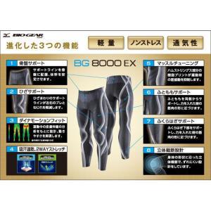 ネコポス選択可 ミズノ mizuno バイオギア BG8000EX タイツ A60BP310 メンズ ランニング ジョギング ウォーキング スポーツタイツ