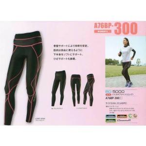 ネコポス選択可 ミズノ mizuno バイオギア BG5000 ロングタイツ A76BP300 レディース ランニング ジョギング ウォーキング スポーツタイツ|ems-sports1