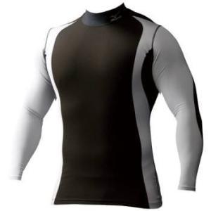 ネコポス選択可 ミズノ mizuno バイオギア ハイネック長袖 A86YN15090 メンズ アンダーシャツ|ems-sports1