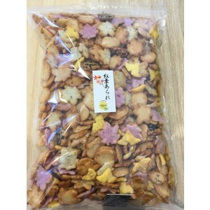 訳あり 秋のお菓子 せんべい 人気 おかき 和菓子  紅葉あられ久助 1kg