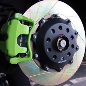 VW EOS2.0/3.2 325mm (純正282mmローター用)2ピース リアビックローターSET HHC BRAKES|emusengineering