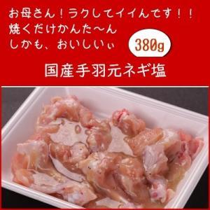 国産鶏手羽元ネギ塩 380g emutuselect