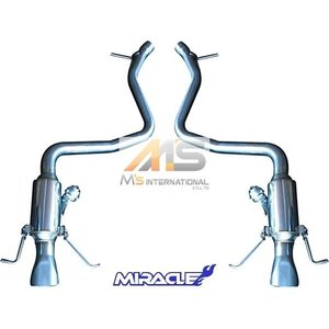 【M's】W222 メルセデスベンツ Sクラス S550(V8)MIRACLE製 可変リアマフラー//ステンレス ミラクル S222 3449 リモコン付 可変マフラー 新品|emuzu-international