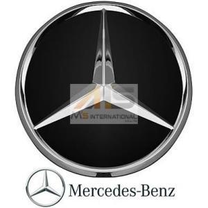 【M's】ベンツ AMG 純正品 ホイールセンターキャップ 1個 ブラック/クローム(直径:74mm)//正規品 光沢 ホイールハブキャップ|emuzu-international