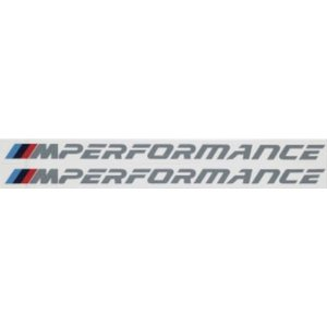 ☆BMW純正☆BMW M Performance ステッカー・セット(2枚セット) en-and-company