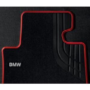 ☆BMW純正☆フロアマットTextile ブラック/レッド(Sport) フロント・セット 3シリーズ(F30/F31/F34)  右ハンドル車用 (除320i xDrive)|en-and-company