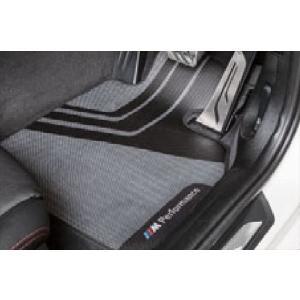 ☆BMW純正☆BMW M Performance フロア・マット・セット フロントセット 3シリーズ(F30/F31) M3(F80) 右ハンドル車用 en-and-company