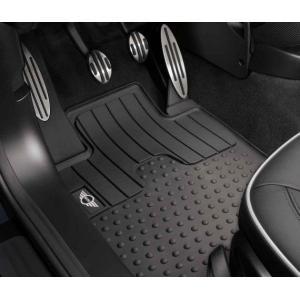 ☆BMW MINI純正☆ラバーマット・セット フロント MINIロゴ MINI CROSSOVER(R60)2011.8~生産/PACEMAN(R61) 右ハンドル車用|en-and-company