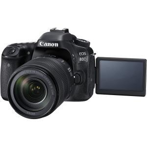 キヤノン  Canon デジタル一眼レフカメラ EOS 80D レンズキット EF-S18-135m...