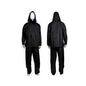 雨具 レインウェア上下セット(ブラック) FJ8091|ena-com