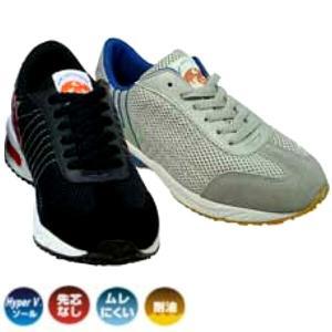 ハイパーVソールとは、日進ゴムが開発した高度なグリップ性能を発揮する靴底の名称です。 油・水・石鹸水...