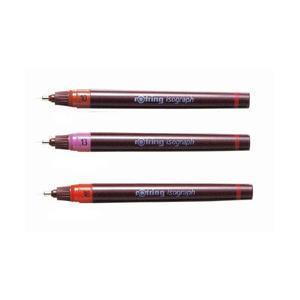 ポイント5倍 ロットリング rotring 製図ペン イソグラフIPL 0.1/0.13/0.18|enauc