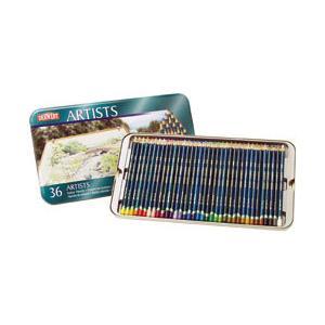 ポイント10倍 送料無料 ダーウェント 色鉛筆 アーチストカラーペンシル 36色セット 油性色鉛筆|enauc