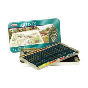 ポイント10倍 送料無料 ダーウェント 色鉛筆 アーチストカラーペンシル 72色セット 油性色鉛筆|enauc
