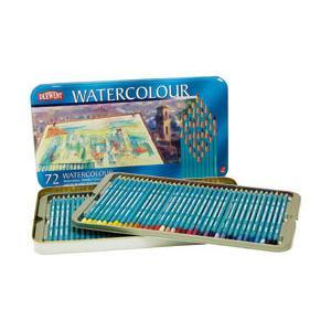 ポイント10倍 送料無料 ダーウェント 水彩色鉛筆 ウォーターカラーペンシル 72色セット enauc