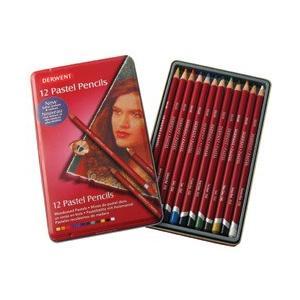 ポイント10倍 メール便可 ダーウェント パステルペンシル 12色セット 水彩色鉛筆 enauc