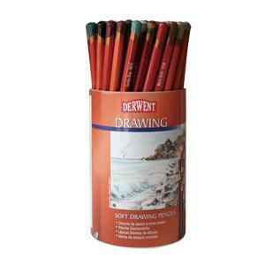 ポイント10倍 送料無料 ダーウェント ドローイングペンシル ラウンドタブ(72本) スケッチ用 油性色鉛筆|enauc