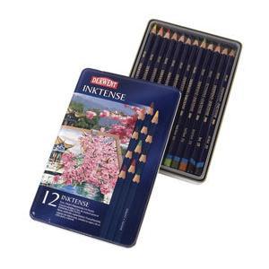 ポイント10倍 メール便可 ダーウェント 水溶性色鉛筆 インクテンス 12色セット|enauc