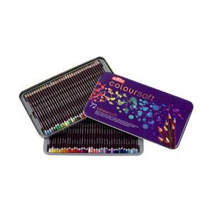 ポイント10倍 送料無料 ダーウェント 色鉛筆 カラーソフト 72色セット 油性色鉛筆|enauc